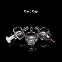 Quartz Banger Carb Cap Bubble con mini orificio Por menos de 30mm XXL Flat top Quartz Banger domeless Nails Dab Oil Rigs