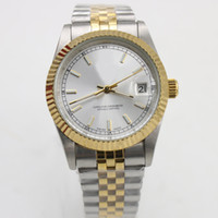Classic luxury brand men' s 36mm automatic mechanical wa...