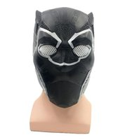 Free Shipping 2018 Hot Sale Latex Panther mask new movie her...