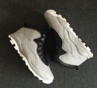 Cimento 10 Westbrook 10s estou de volta Branco Preto Cool Gray Linces Chicago Steel Grey Homens Tênis De Basquete X Sneakers shippment livre Com caixa