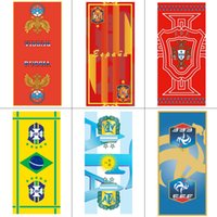 NEW 75cm*35cm 2018 FIFA Russia World Cup Football Team Sign ...