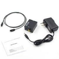 Digital-Analog-Audio-Konverter Digital Adapter Optic Coaxial RCA Toslink Signal-Analog-Audio Converter RCA