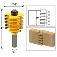 1 2 Inch Shank Wood Router Drill Bit Rail and Stile Finger J...