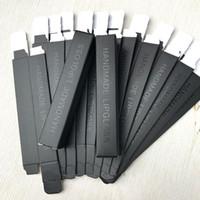 2 * 2 * 12 cm Boş Siyah Dudak Parlatıcısı Ambalaj Kutusu, Dudak Parlatıcısı Tüp için DIY Ambalaj Kağıt Kutusu, boş Ambalaj Kutusu F1157