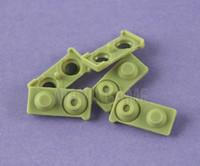 الأخضر لسوني PS3 L1 R1 L2 R2 الزناد استبدال منصات السيليكون موصل السيليكون