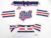 Cheap REGINA PATS WHL BLANCO PRO HOCKEY JERSEY puntada agregar cualquier  número cualquier nombre Mens Hockey 0d6c36bb5