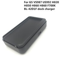 50 قطعة / الوحدة شاحن قفص الاتهام البطارية ل lg g5 usb الجدار السفر حوض محول ل g5 vs987 us992 h820 h850 h868 h860 f700k BL-42D1F