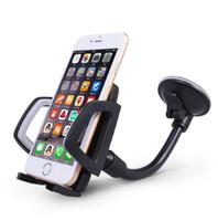 Горячая длинная рука лобовое стекло мобильный телефон автомобильный держатель кронштейн для вашего мобильного телефона стенд для iPhone GPS MP4