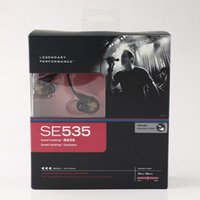 Factory direct sell SE535 wired headsets hifi earphones with...