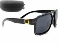 세계 유명 브랜드 여름 여성 승용차 사례 상자 천으로 망 자전거 안경 안경 바람 미러 쿨 태양 안경 무료 배송