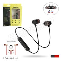 M9 Sports Bluetooth Wireless Earphone Metal Magnetic Stereo ...