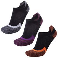 Hombres Mujeres Baloncesto Calcetines deportivos transpirable cómodo Profesional calcetines deportivos al aire libre Calcetines tobillo Mujer masculina mayorista