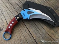 the one phoenix Claw knife D2 blade Hunting Folding Pocket K...