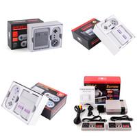 Super Famicom Mini SFC TV Видео Портативная игровая приставка Развлекательная система для NES SNES Games English Retail Box