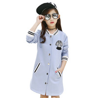 Girls Embroidery Striped Coat Clothes Kids Outerwear Infanti...