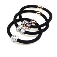 Bunte runde Perlen Haar-Zusatz-Frauen-Stirnband, Gummibänder für Haar-Mädchen, Haarband-Haarschmuck für Kinder
