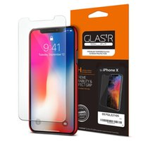 100% Original Spigen Glass. tR Slim Screen Protector for iPh...