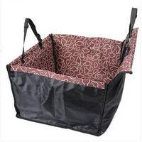 2018 hot sales Waterproof Foldable Pet Dog Car Cushion Protector Single Seat Adjustable Backseat Hammock Dog Carrier