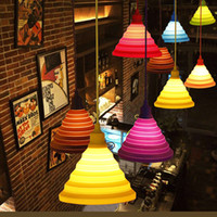 Modern chandelier Pendant Lights Fashion Simple Colorful Sil...