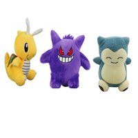 "Hot Sale New 3 Style 6"" 15cm Dragonite Gengar Snorlax P..."