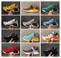 2018 Wholesale NMD Human Race Pharrell Williams Hu trail NER...