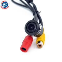 Mini HD CCD Car 18.5mm Car Rear View Parcheggio inverso telecamera di backup visione notturna impermeabile