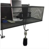 2018 Spedizione gratuita all'ingrosso Wall Mount Mail Key Rack Nero elettrodomestici collezione di stoccaggio elettrodomestici forniture per ufficio a casa