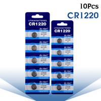 10 STÜCKE CR1220 3 V ZELLENBATTERIE UHR KNOPF ECR1220 DL1220 LM1220 KCR1220 COBATTERIEN QUALITÄT CR 1220