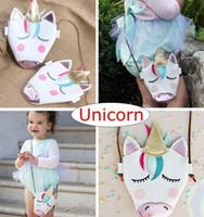 Новые дети девушка мода Единорог сумка милые милые сумки посыльного школа Crossbody сумка Сумка девочки подарок на День Рождения