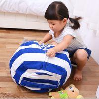 Kinder Speicher Bean Bas Plüschtier Spielzeug faul Sac Sofa Stuhl Spielmatte gestreiften Plüsch Spielzeug Kleidung Veranstalter Aufbewahrungsbeutel 18 DHL-FREI