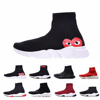 New ACE Luxury Brand Designer casual Shoes Speed Trainer Bla...