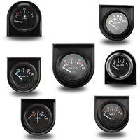 2 Zoll 52MM Wassertemperatur / Öltemperatur / Ölpresse psi / Ölpresse kg / Volt / Amperemeter / Kraftstoffstand (ohne Schwimmer) Messgerät Messgerät