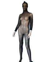 Full Body Hommes Femmes Collants Collants Bas Lingerie, Sexy Pure Bodystocking Complet Bodyhose Wrap Bodyhose S926