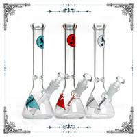 Heißer Verkauf 10-Zoll-Hitman Becherglas mit Eis Fänger berauschenden Glasbong Rohre Wasserrohre Shisha Shisha billig Bongs freies Verschiffen Raucher