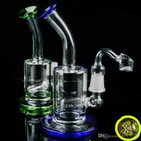 "Glass Bong Percolator Water Pipe 5"" inch Heady Glass Oi..."