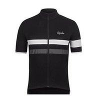 Rapha Team 2021 летний мужской с коротким рукавом велосипедные джерси горные велосипедные вершины быстрые гоночные рубашки MTB велосипед униформа открытый Sportswear Y21041029