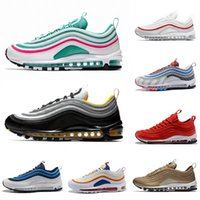 new product 7323b cbca2 Con Box Steelers 97 x UNDEFEATED OG UNDFTD Zapatillas de running 97s SE  Triple Blanco negro