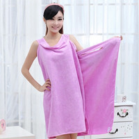 Bath Towels Fashion Lady Wearable Shower Towel Body Wrap Fas...