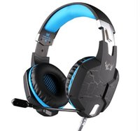 Cuffie da gioco professionali KOTION EACH G1100 HD Game Headset LED con microfono USB 7.1 Channel per LOL DOTA CS CF Esports