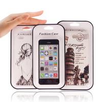100 Adet Kağıt Perakende Ambalaj Kutuları ile PVC Plastik blister Paketi Ile iPhone 8/8 artı Cep Telefonu Kılıfı