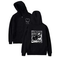 LuckyFriDayF BTS KPOP LOVE Sweat Sweatshirt Sweatshirt Femmes / Hommes BTS V Le même style Sweats à capuche Femme / Men Streetwear