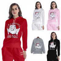 BOFUTE New Women' s Clothing O- Neck Hooded Sweatshirt Ch...