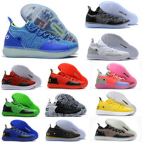 2018 New Arrival KD XI 11 Oreo Paranoid Sports Basketball Sh...