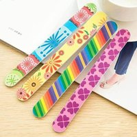Nail Files Buffer Sanding Washable Manicure Tool Nail Art Po...