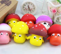 Squishy Mushroom 9cm Slow Rising Toy Decompression bread Rel...