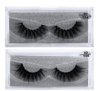 Новые 3D Ресницы Ресницы Прозрачные Пластиковые Наращивание Секси 10 Стили Ресницы Полная Полоска Глаз Ресницы