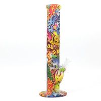 14' ' straight bong Silicone Bongs 14 inch 7 Colors...