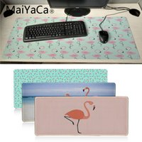 MaiYaCa pink Flamingo Gamer Speed ​​Ratones Retail Small Rubber Mousepad GRAN TAMAÑO Rubber Game Mouse Pad su esposa girlfriend regalo