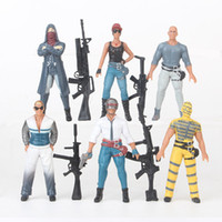 Playerunknown' s Battlegrounds Action Figures Game 6pcs ...