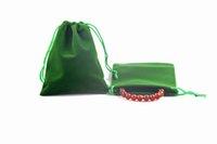 9x12cm Halloween Mixte 150pcs Couleur Bijoux de bijoux pour Pochettes Packagings Personnalisé Qualité Cosmétique Chiirstmas De Mariage Haut Velvet St BDFE